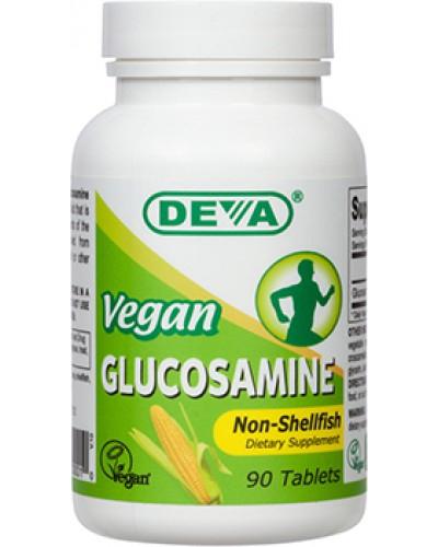 Image of Deva, Glucosamine MSM & CMO, Vegan, 90 Tablets 0895634000010