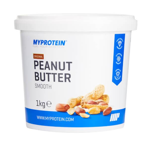 Image of Peanut Butter Natural - Crunchy (1 kg) - MyProtein 5055534301180