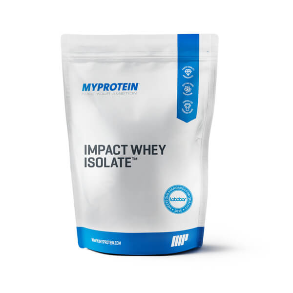 Image of Impact Whey Isolate, Natural Chocolate, 2.5kg - MyProtein 5055534341827