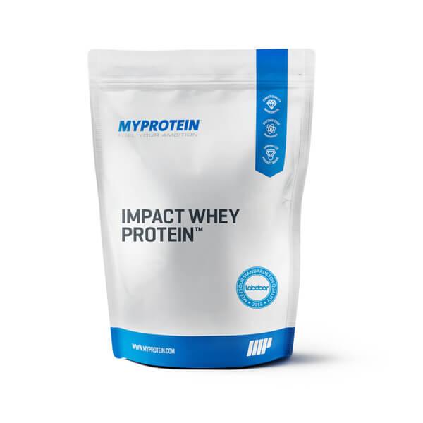 Image of Impact Whey Protein, Blueberry, 2.5kg - MyProtein 5055936800250