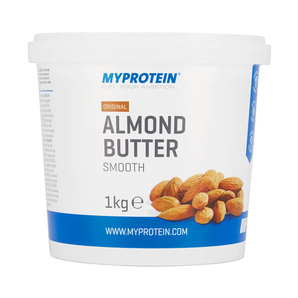 Image of Almond Butter Smooth - Tub - 1kg - MyProtein 5055534301517