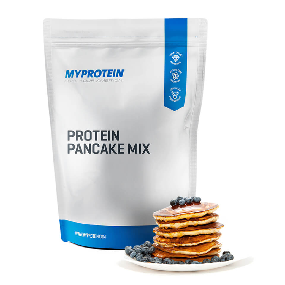 Image of Protein Pancake Mix, 1kg, Unflavoured - MyProtein 5055534325728