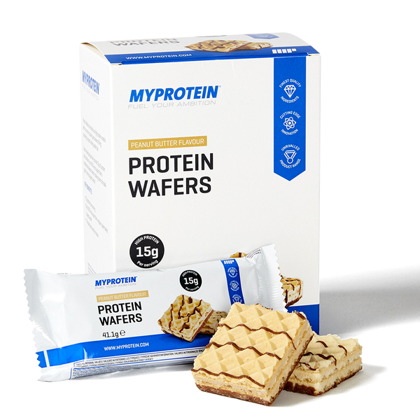 Image of Protein Wafers, Chocolate 10x40 - MyProtein 5055534338308