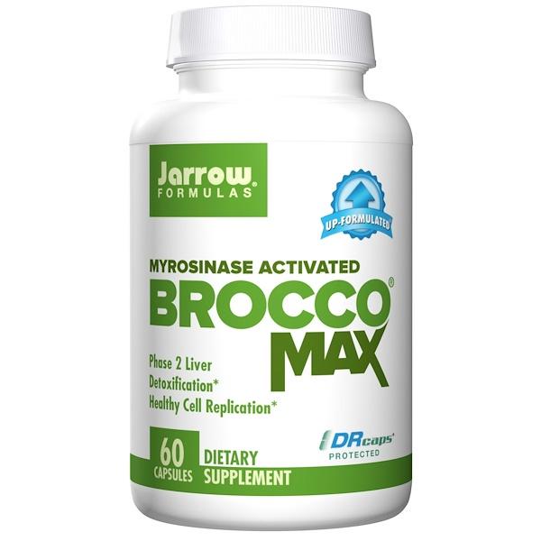 BroccoMax Myrosinase Activated (60 Vegetarian Capsules) Jarrow Formulas