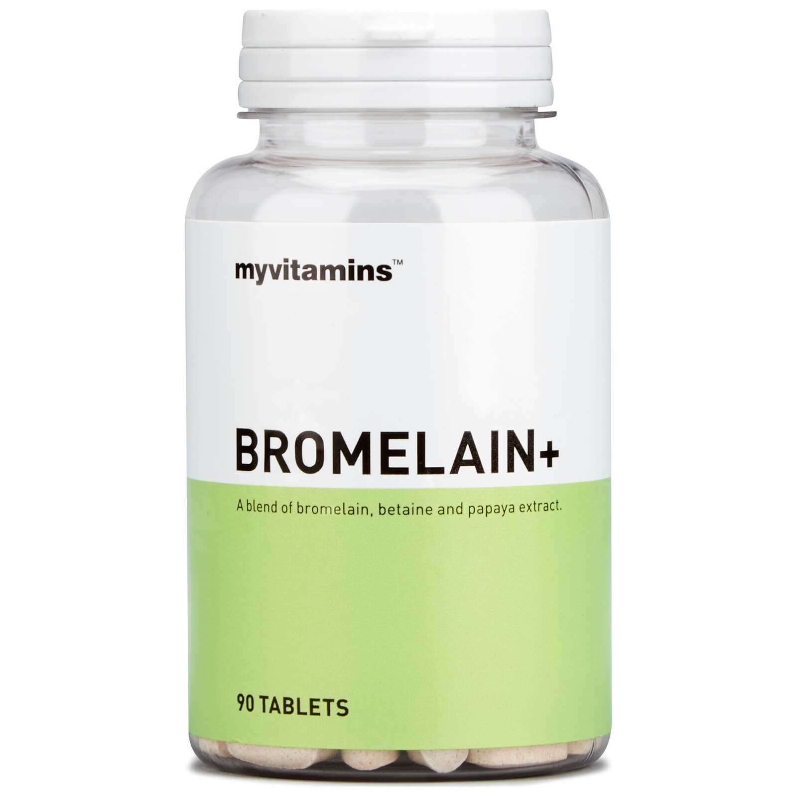 Image of Bromelain+ (30 Tablets) - Myvitamins 5056104500798