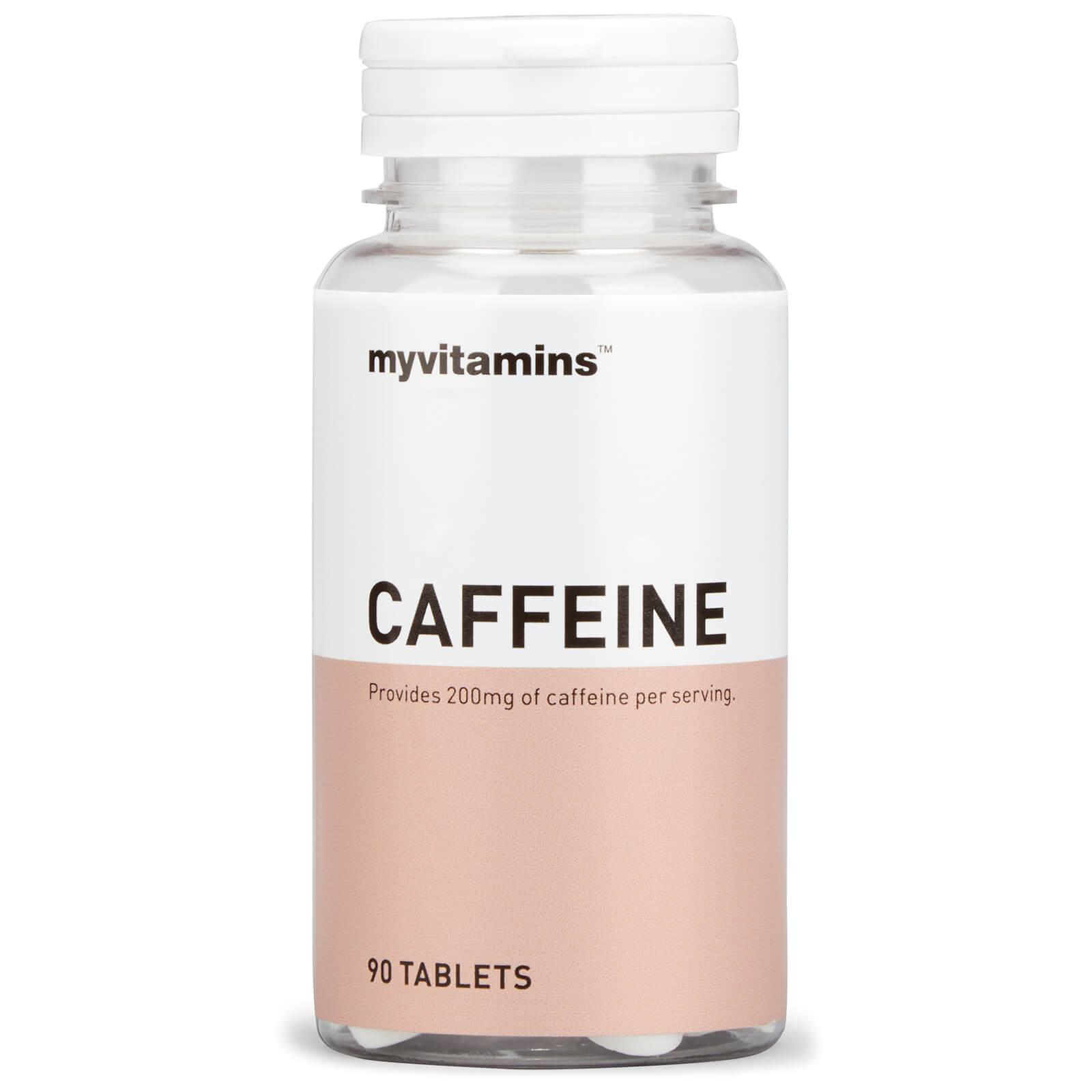 Image of Caffeine (30 Tablets) - Myvitamins 5056104501252