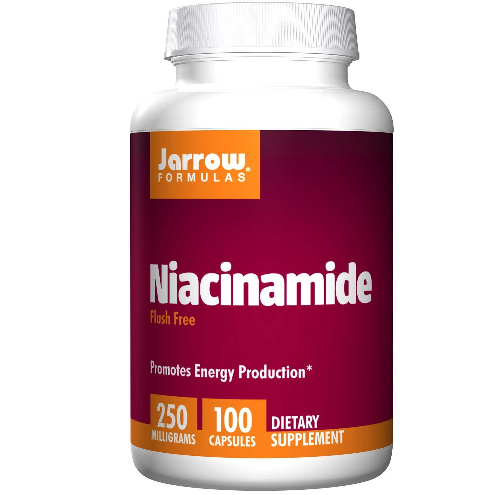 Image of Niacinamide 250 mg (100 Capsules) - Jarrow Formulas 0790011180098