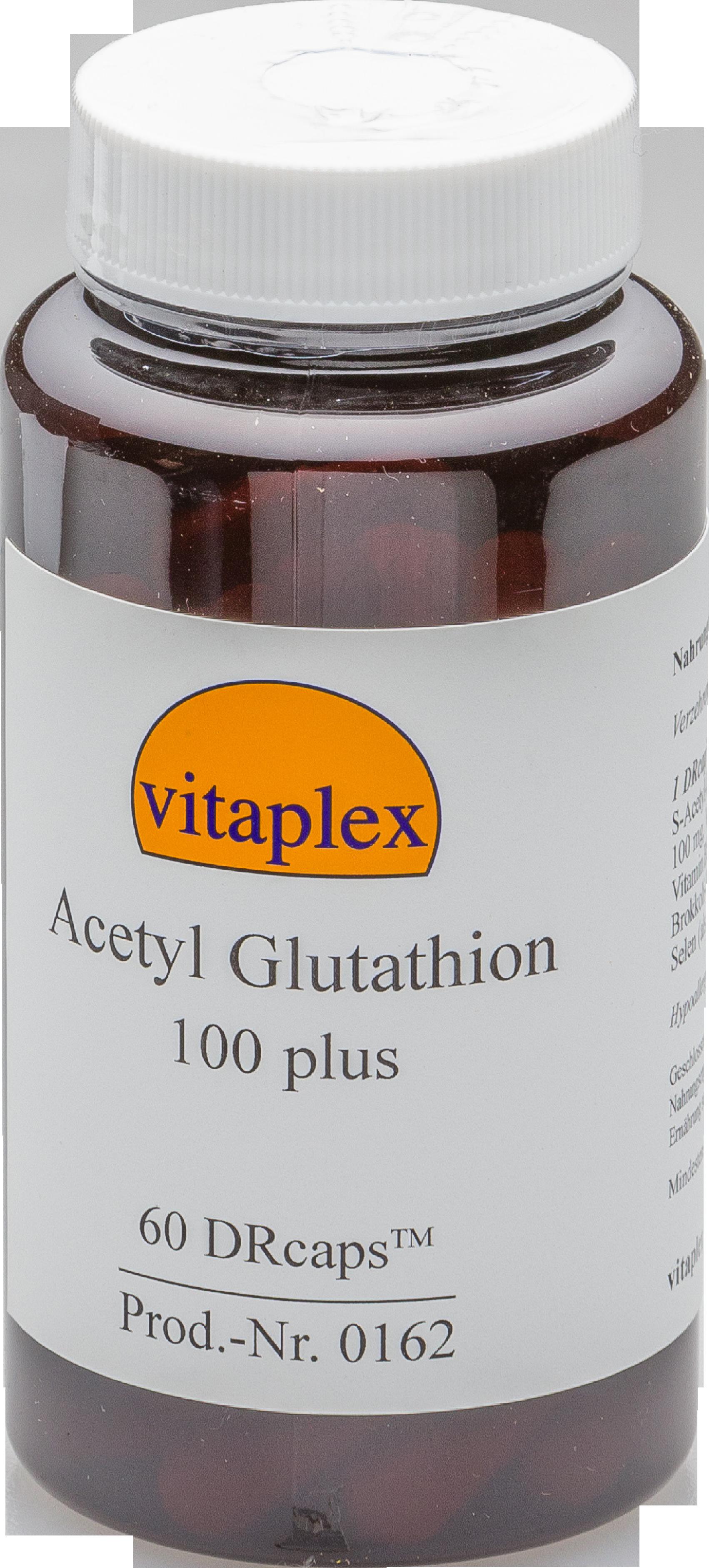 Acetile glutatione 100 plus (60 DRcaps) Vitaplex