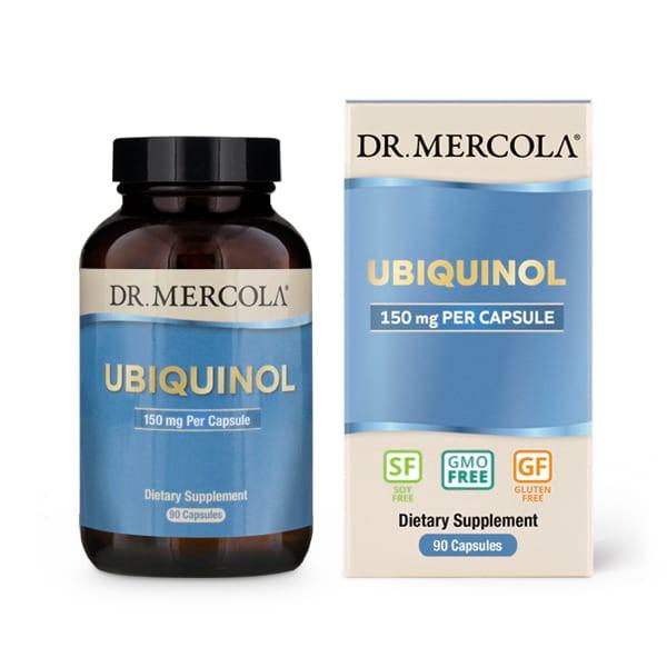 Image of Ubiquinol 150 mg 90 Capsules - Dr. Mercola 0813006018005
