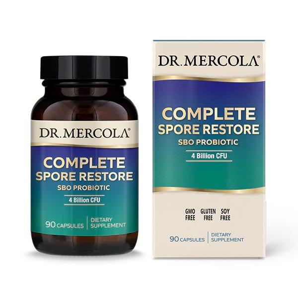 Complete Spore Restore (90 capsules) Dr. Mercola (Vitamins)