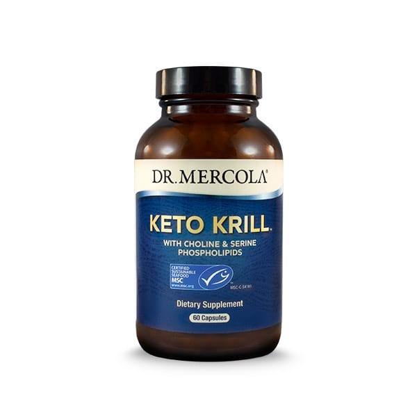 Keto Krill 60 Capsules Dr Mercola