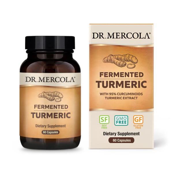 Image of Fermented Turmeric 60 Capsules - Dr. Mercola 0810487032360
