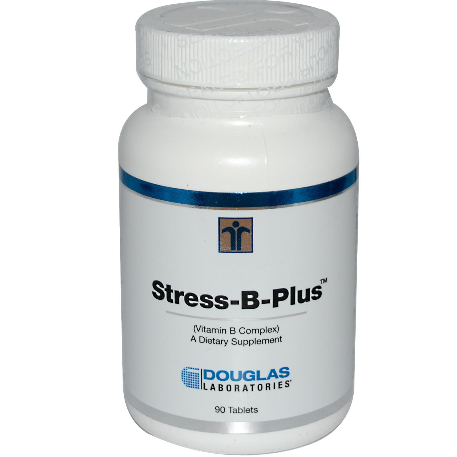 Image of Stress-B-Plus vitamina del complesso B (90 compresse) - Douglas Laboratories 8713975991311