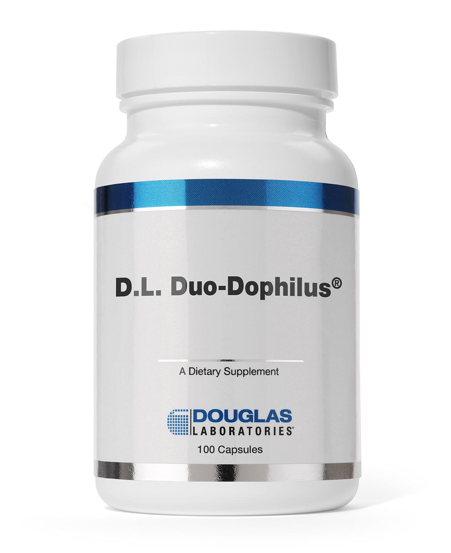 D.L. Duo Dophilus (100 capsule) Douglas Laboratories
