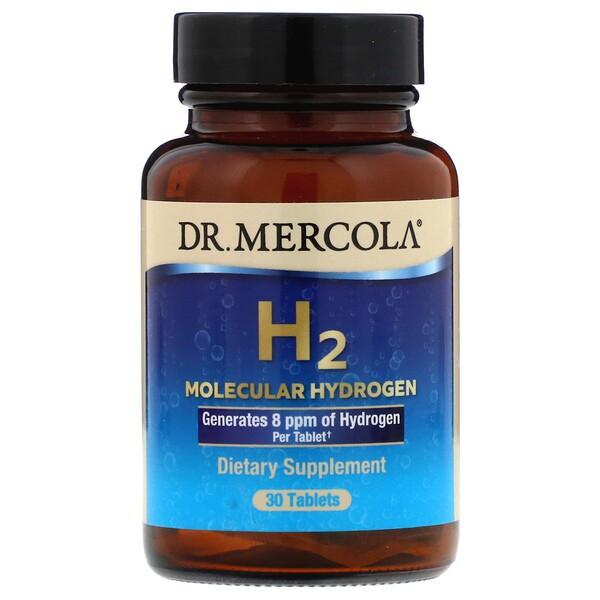 H2 Molecular Hydrogen 30 Tablets Dr. Mercola