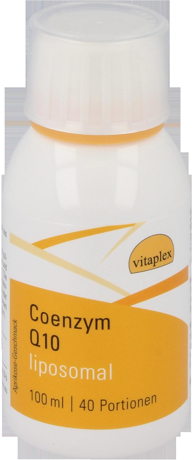 Image of Coenzym Q10 liposomiale (100 ml) - Vitaplex 8719322084156