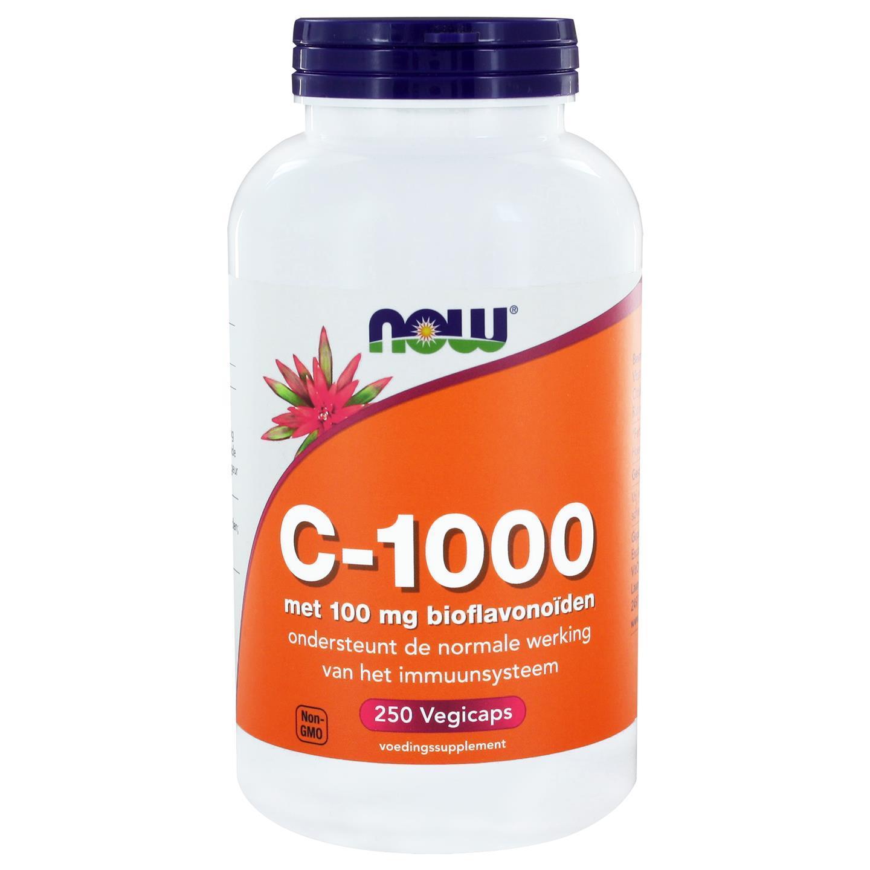 Image of Now Foods, C-1000 con bioflavonoidi, 250 capsule 0733739100375