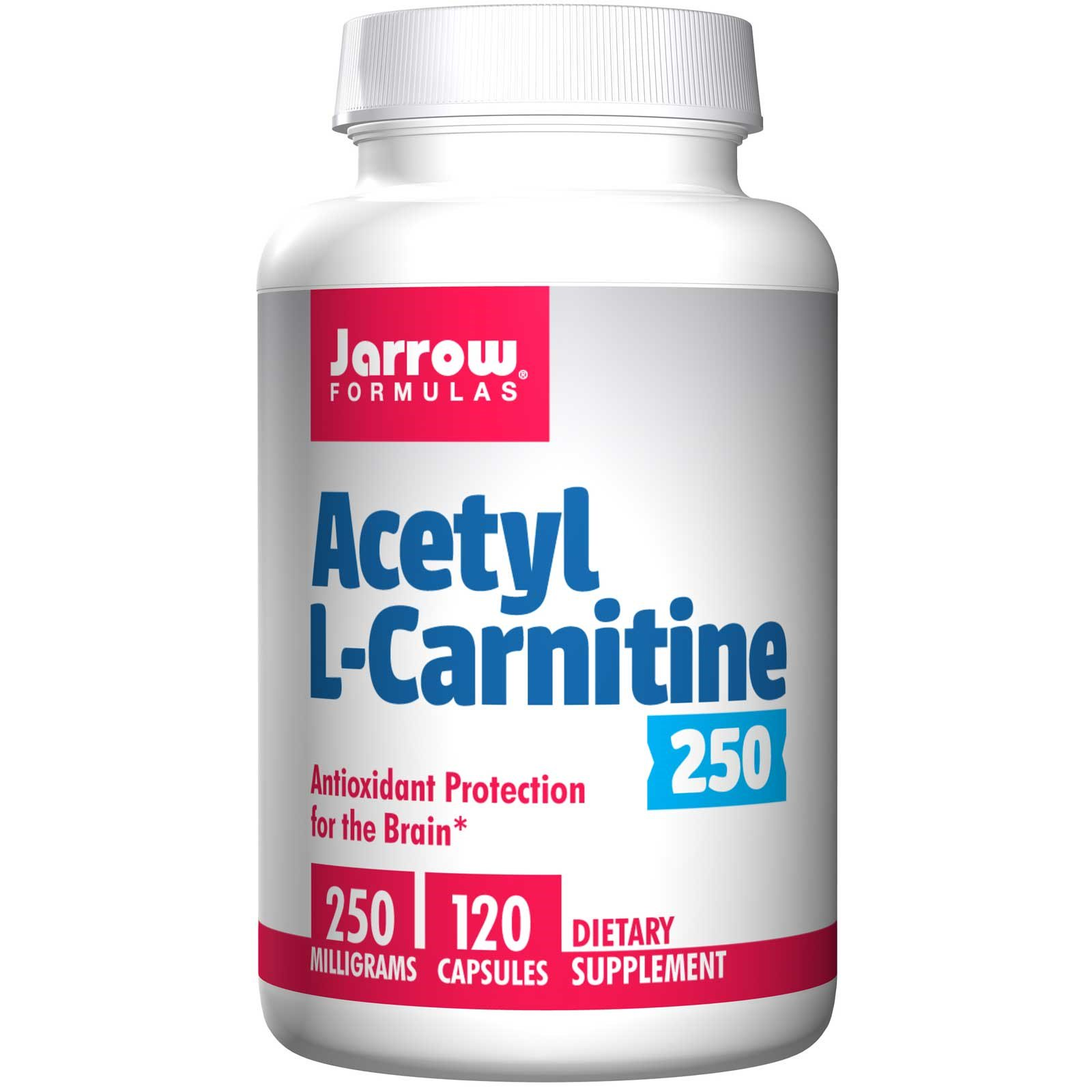 Acetyl L Carnitine 250 mg (120 Vegetarian Capsules) Jarrow Formulas