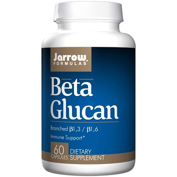 Beta Glucan Immune Support (60 Capsules) Jarrow Formulas
