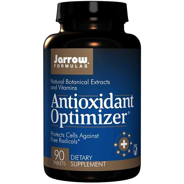 Image of Antioxidant Optimizer (90 tablets) - Jarrow Formulas 0790011010012