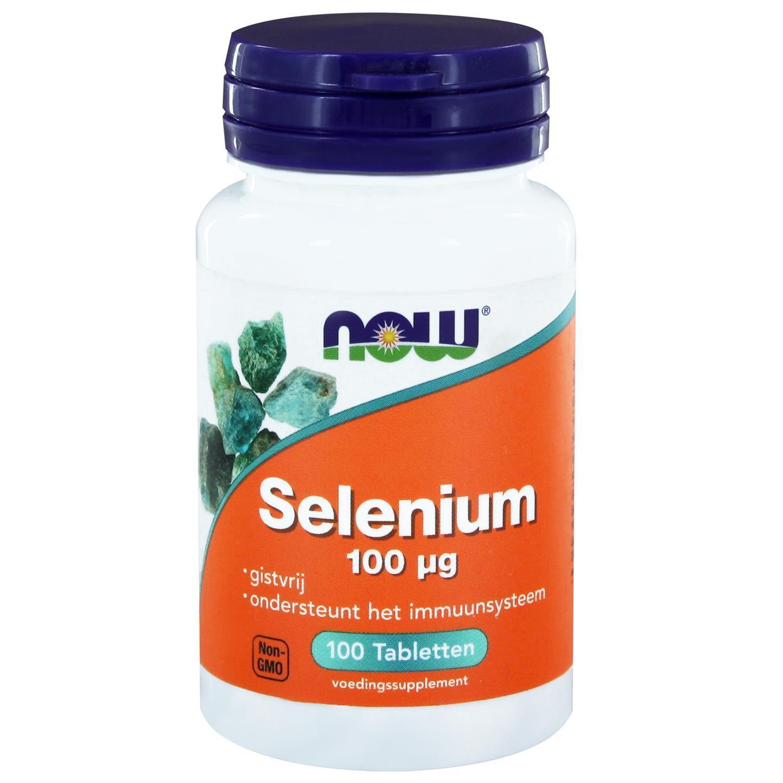 Image of Now Foods, Selenio sensa lievito 100 mcg, 100 compresse 0733739101181