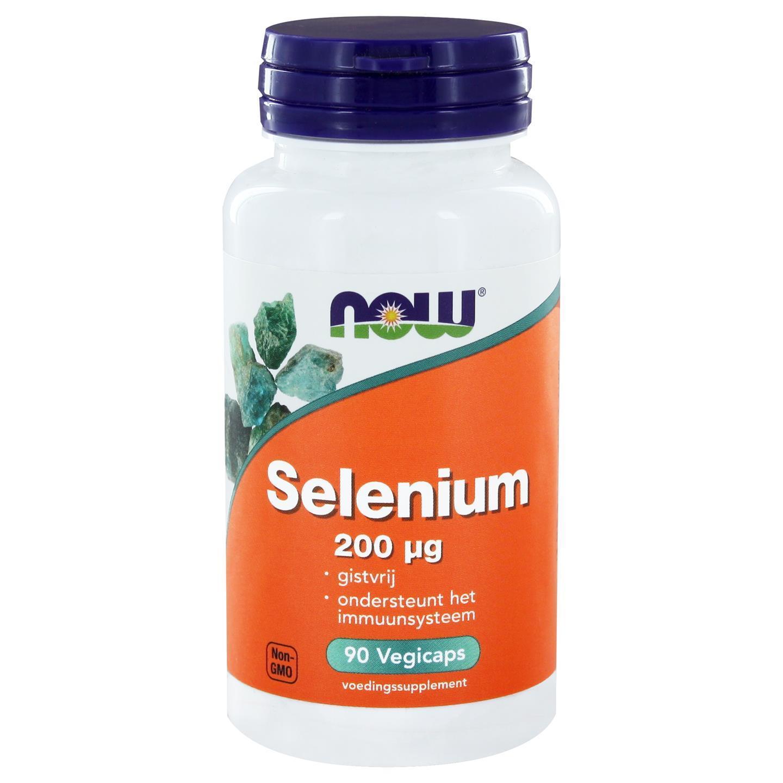 Image of Now Foods, il selenio minerale essenziale 200 mcg, 90 Vcaps 0733739101198