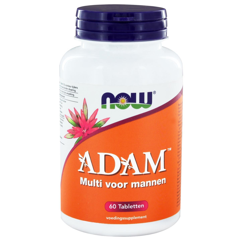 Image of Now Foods, Multi Adam Superior maschile, 60 compresse 0733739114037
