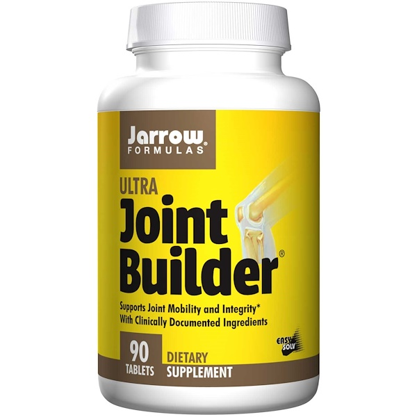 Image of Glucosamine Sulfate and MSM (90 tablets) - Jarrow Formulas 0790011290506