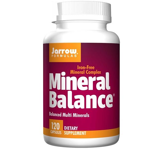 Image of Mineral Balance (120 Capsules) - Jarrow Formulas 0790011130048