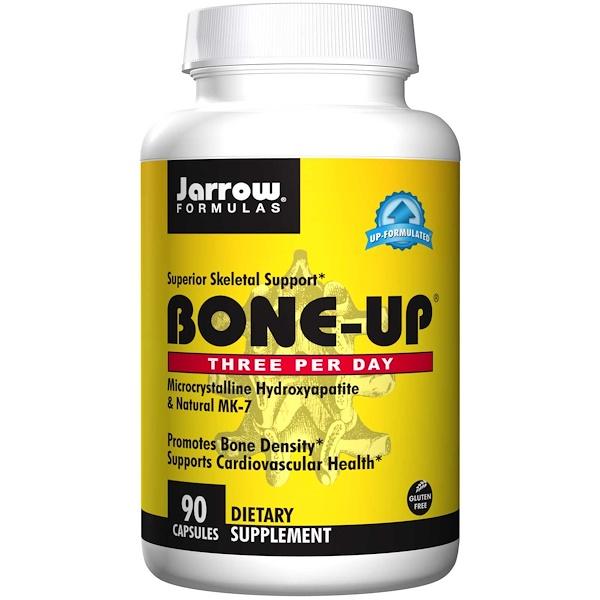 Image of Bone-Up - Three Per Day (90 Capsules) - Jarrow Formulas 0790011048060