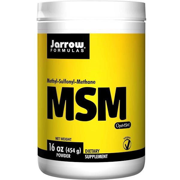Image of MSM Powder (454 gram) - Jarrow Formulas 0790011190141