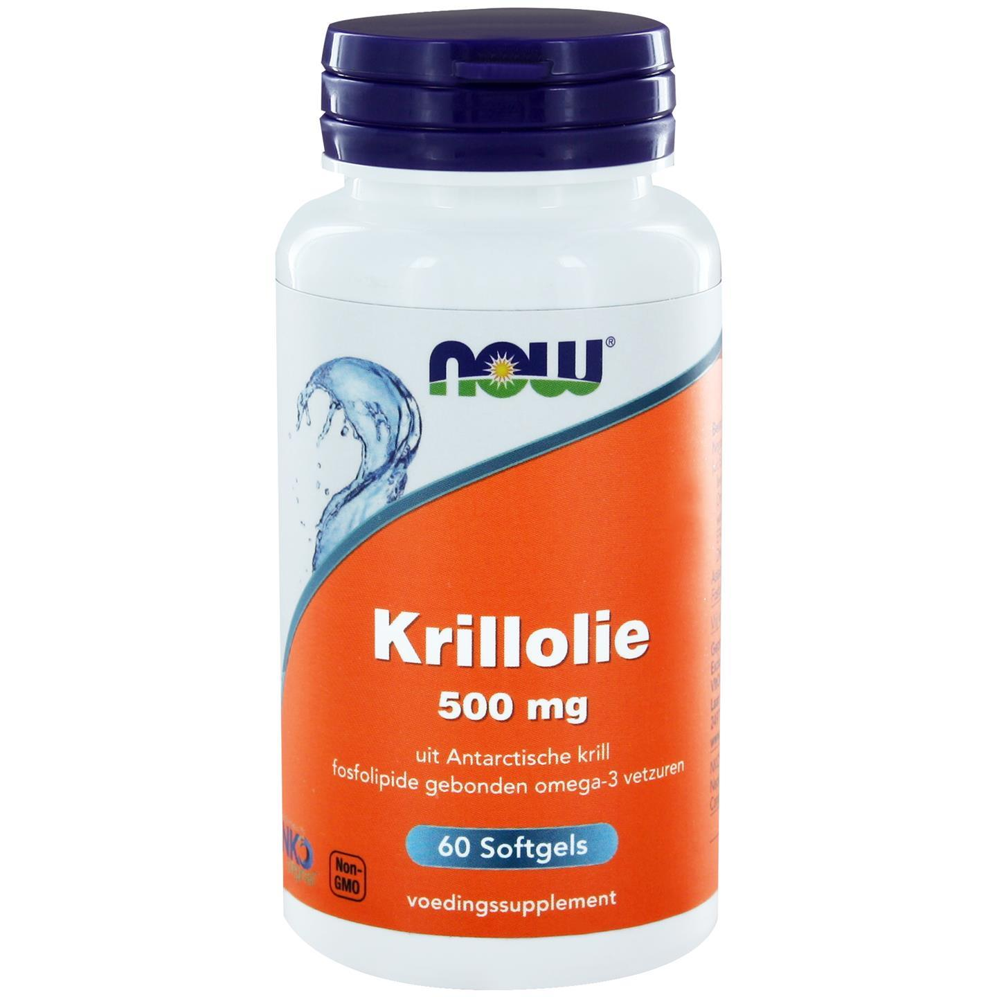 Image of Now Foods, olio di Krill Neptune 500 mg, 60 Softgels 0733739113375