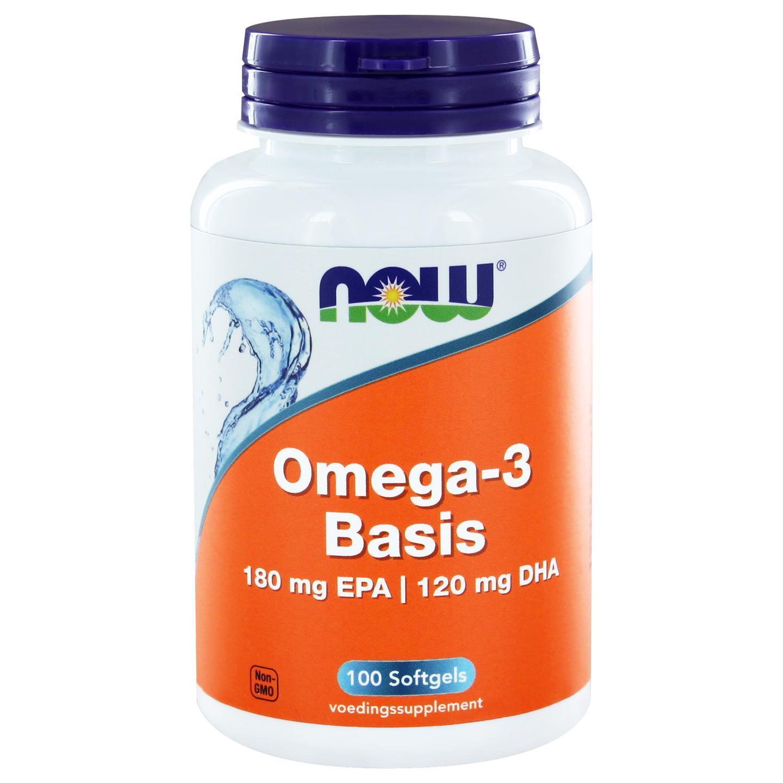 Image of Now Foods, Omega-3, 100 Softgels 0733739100672