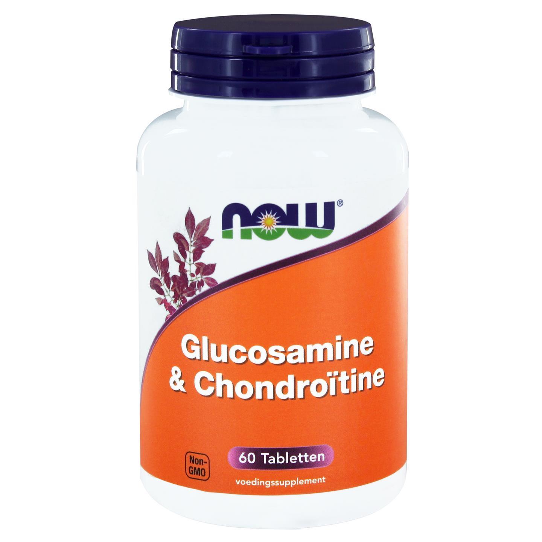 Image of Now Foods, glucosamina & condroitina, 60 compresse 0733739101860