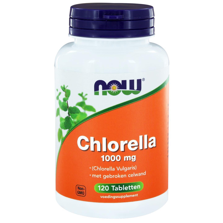 Image of Now Foods, Clorella, 1000mg, 120 compresse 0733739101907