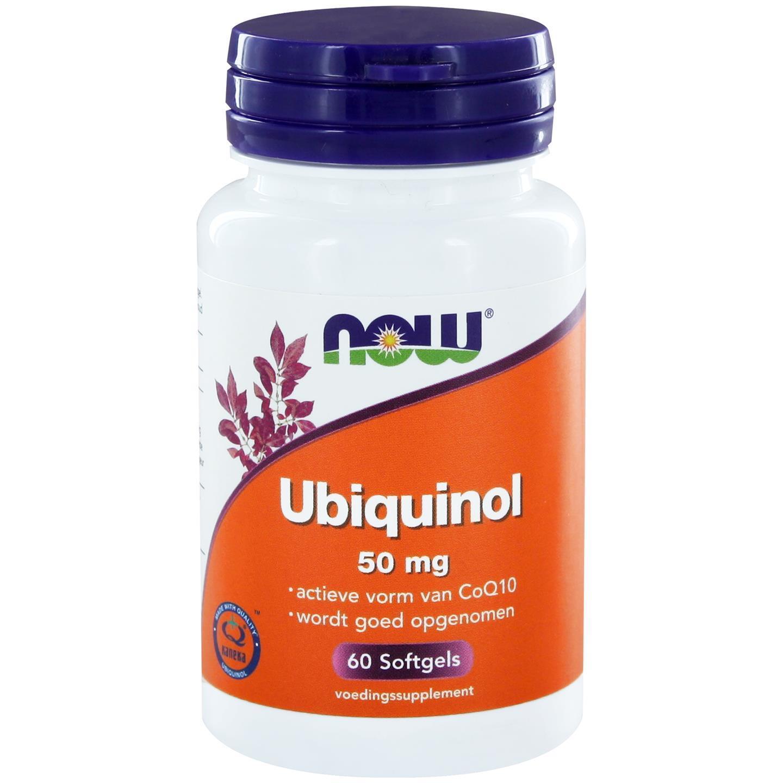 Image of Now Foods, Ubichinolo CoQH-CF, 60 Softgels 0733739113368