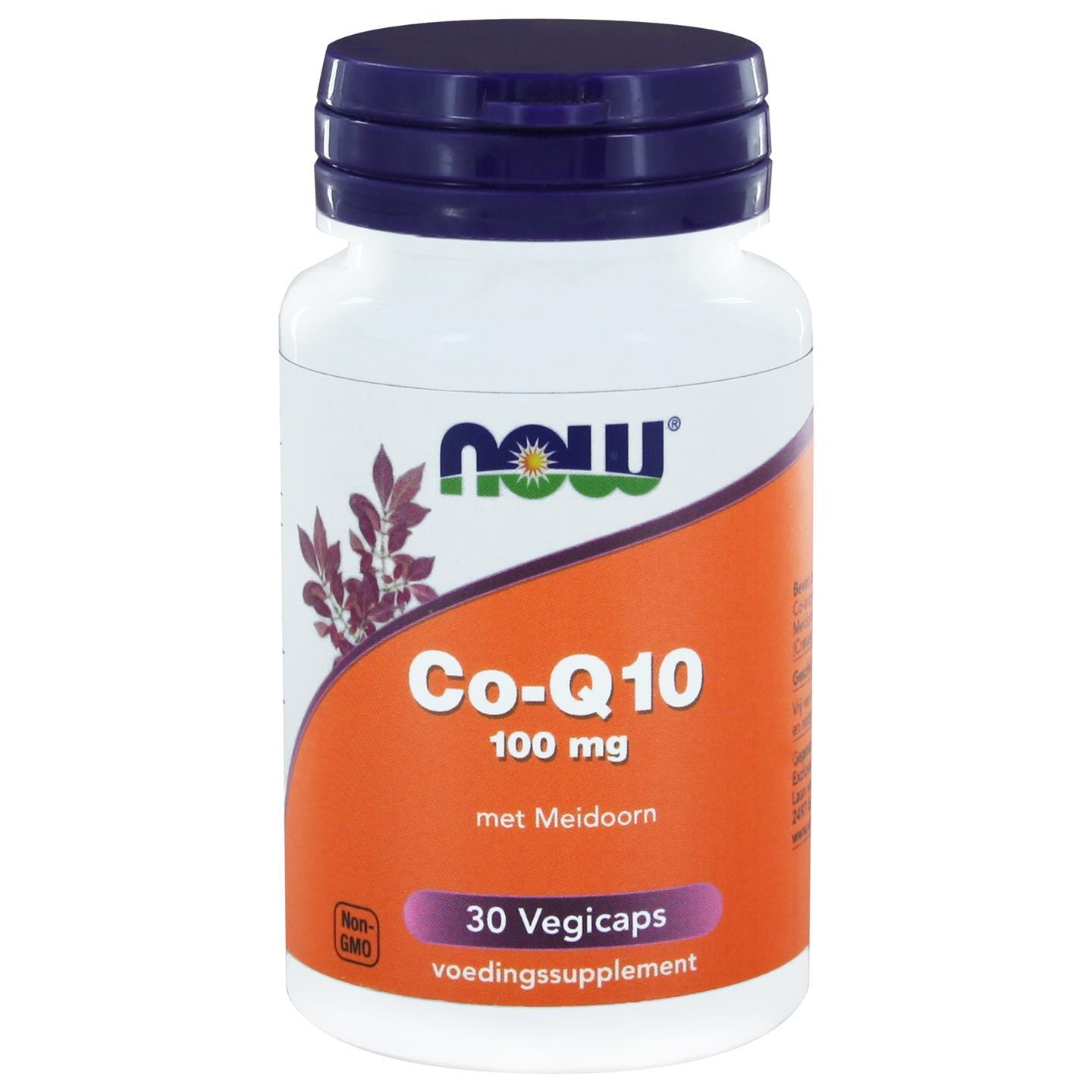 Image of Now Foods, CoQ10, 100 mg, 30 Vcaps 0733739102003