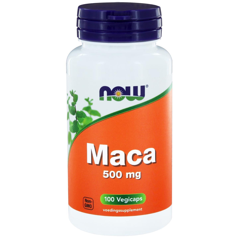 Image of Now Foods, Maca 500 mg, 100 Capsules 0733739108524
