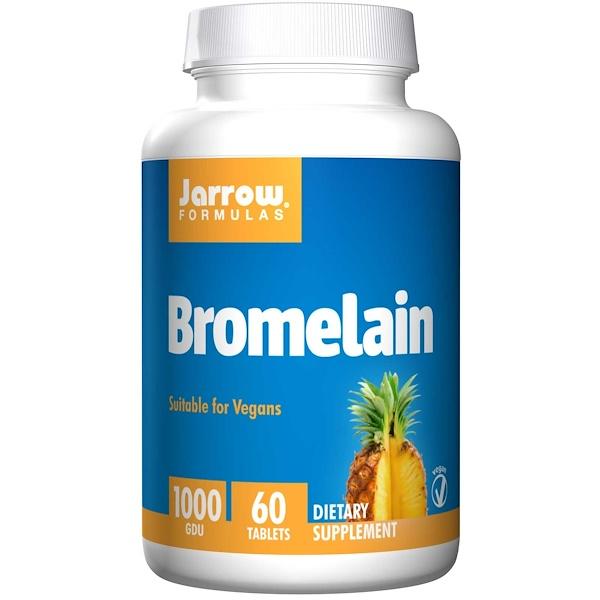 Image of Bromelain 1000 GDU (60 tablets) - Jarrow Formulas 0790011230069