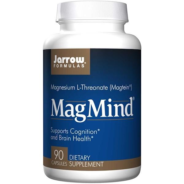 Image of MagMind (90 Capsules) - Jarrow Formulas 0790011290629