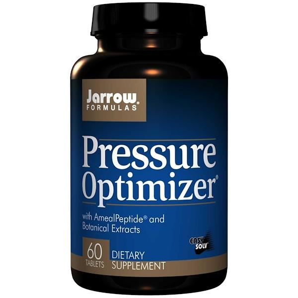 Image of Pressure Optimizer (60 tablets) - Jarrow Formulas 0790011290193
