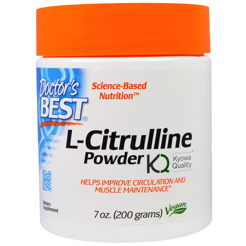 Image of L-Citrulline Powder (200 g) - Doctor's Best 0753950004375