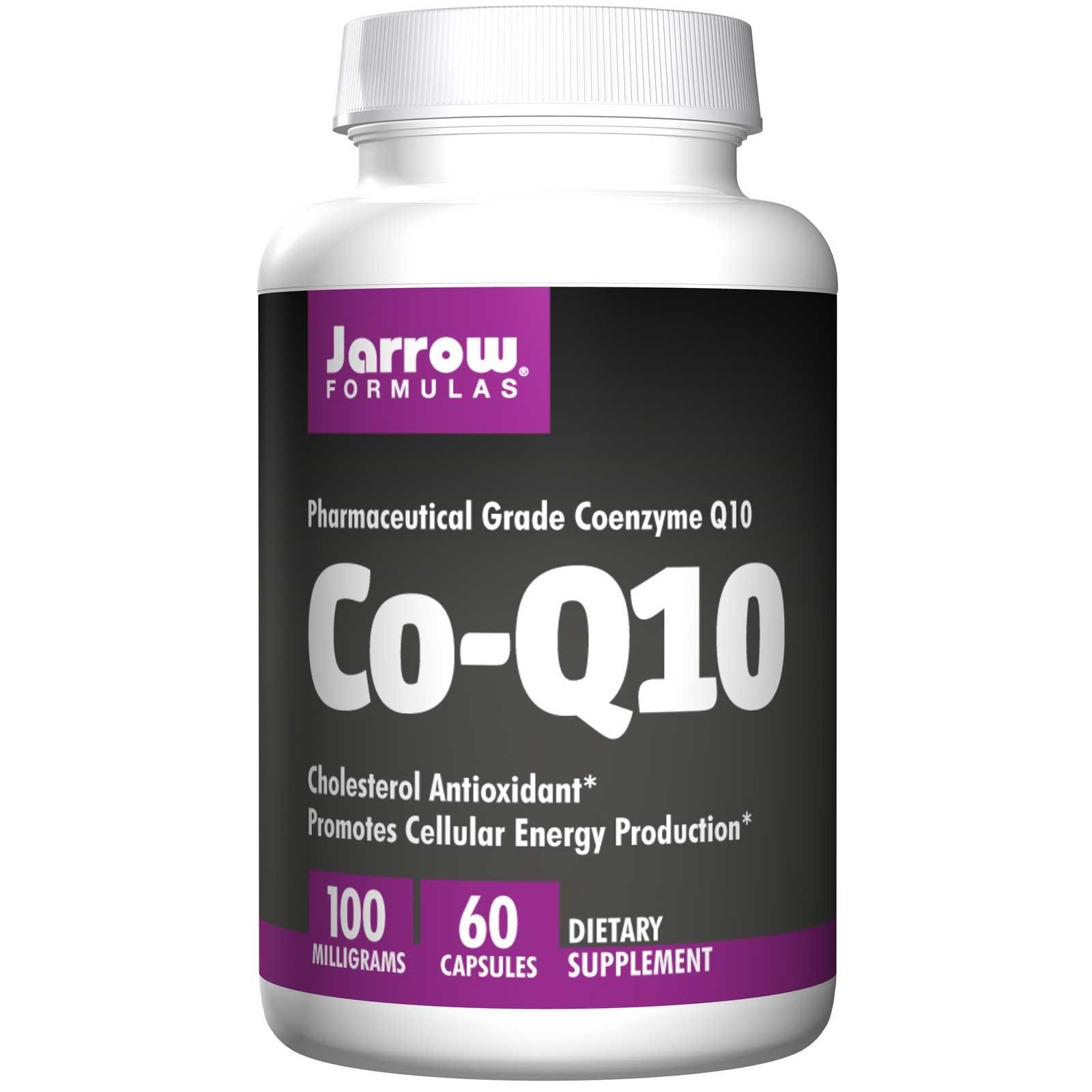 Image of Co-Q10 100 mg (60 capsule) - Jarrow Formulas 0790011060031