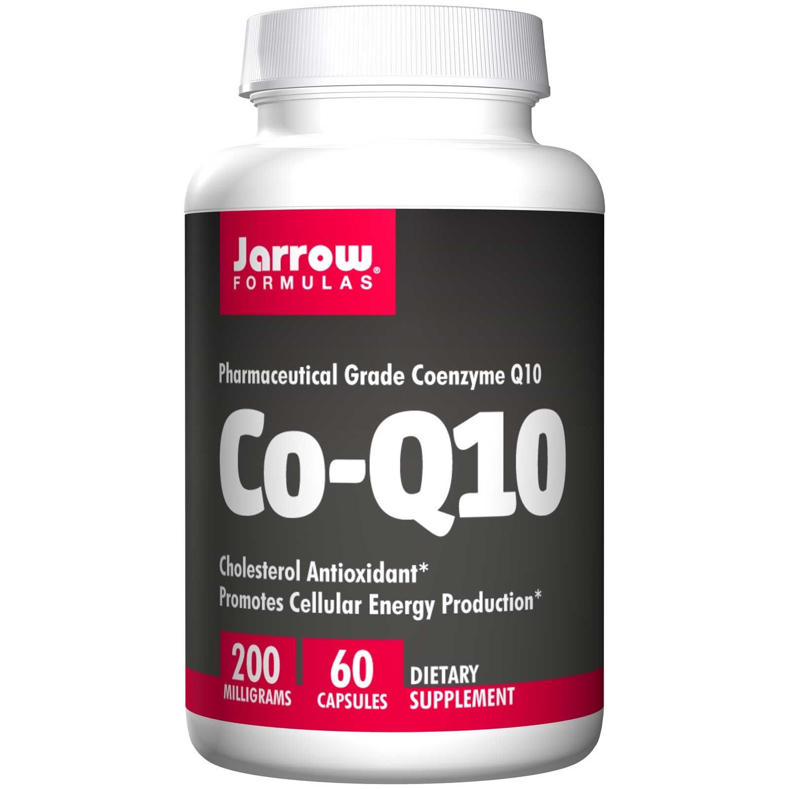 Image of Co-Q10 200, 200 mg (60 Capsules) - Jarrow Formulas 0790011060161