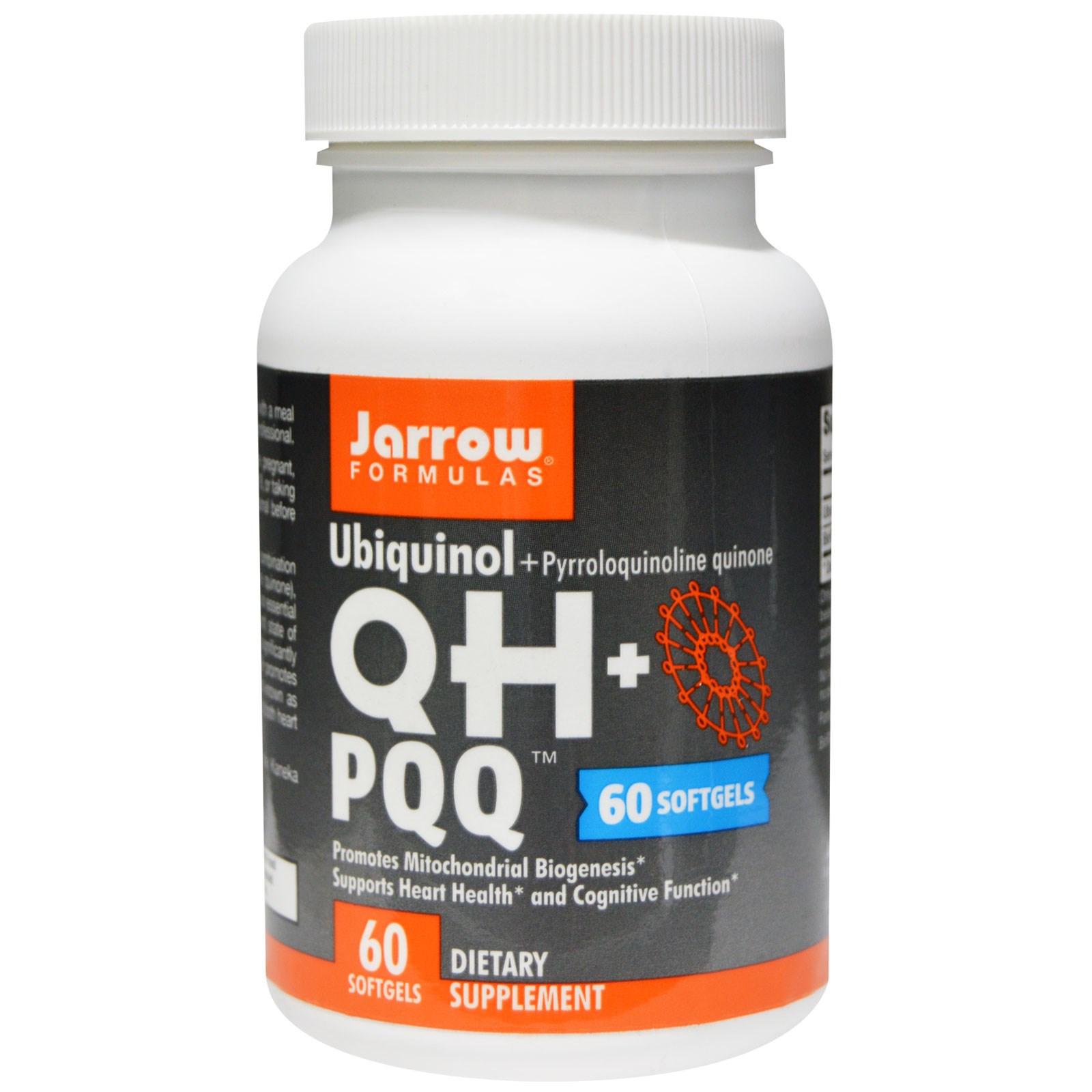 Image of Ubiquinol QH + PQQ (60 capsule) - Jarrow Formulas 0790011060284