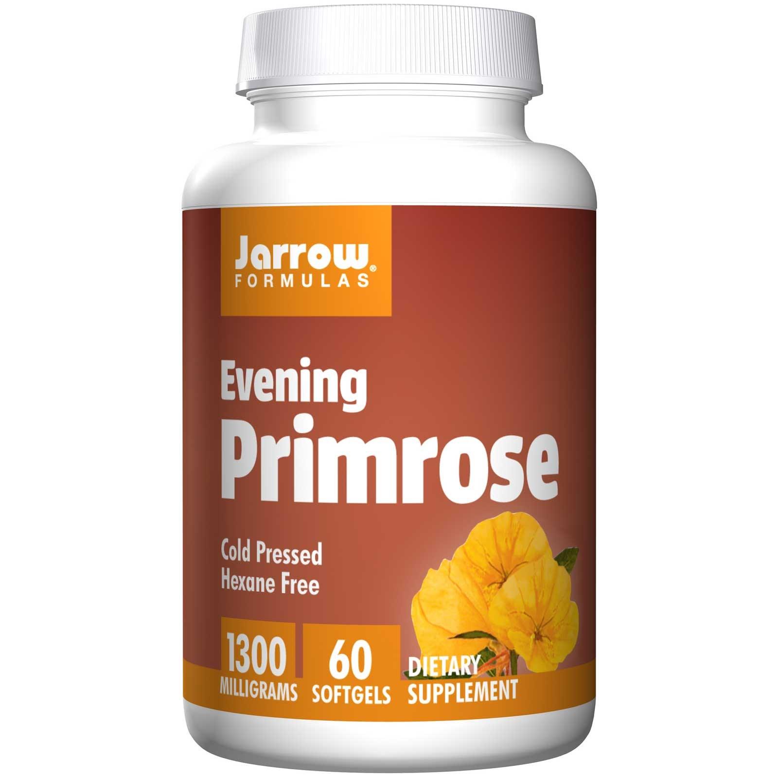 Evening Primrose 1300 mg (60 Softgels) Jarrow Formulas