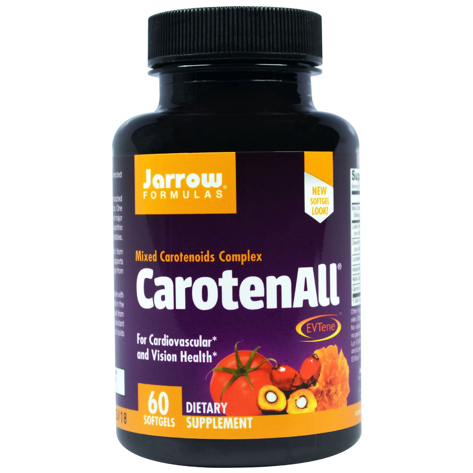Image of CarotenALL Mixed Carotenoids Complex (60 Softgels) - Jarrow Formulas 0790011120186
