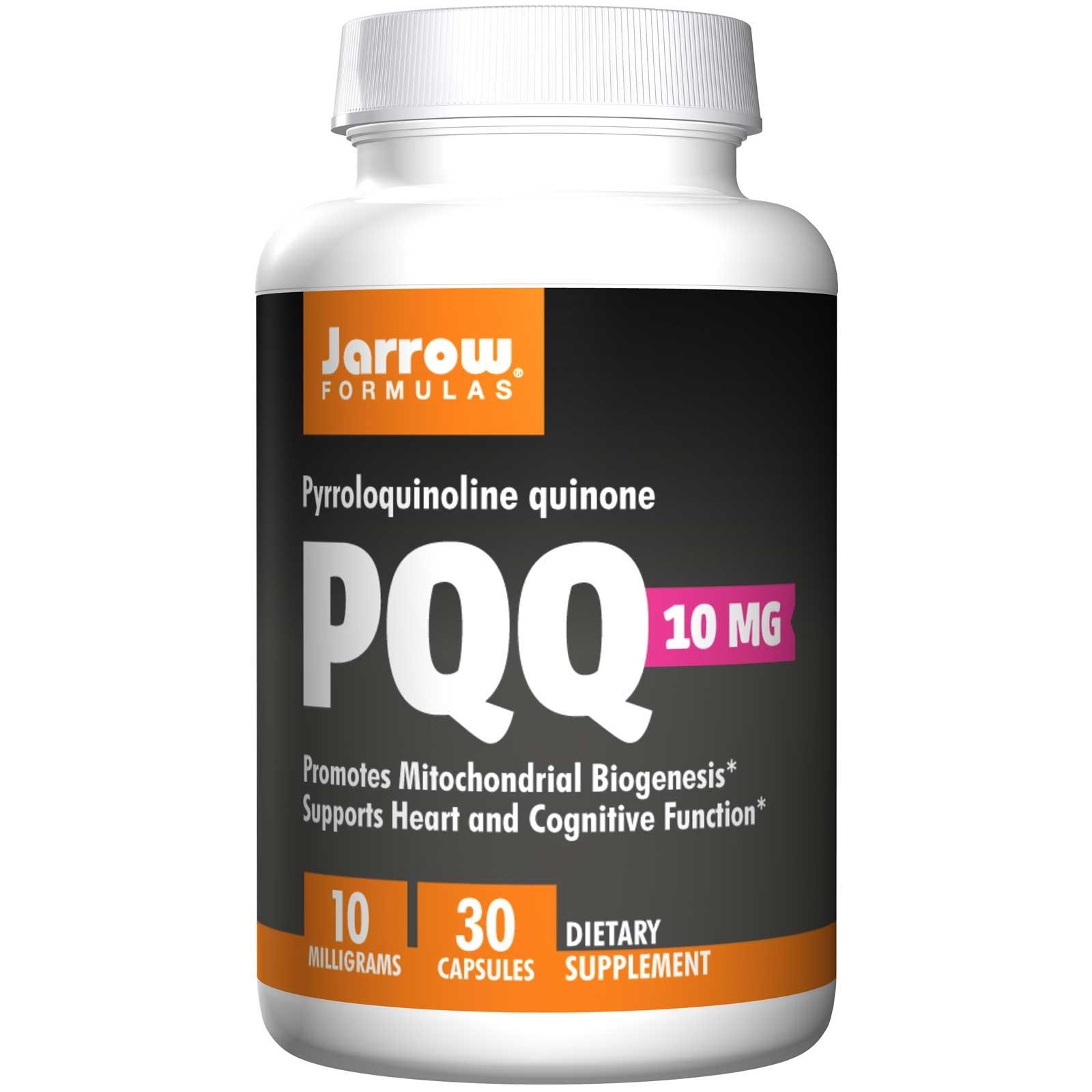 Image of PQQ (Pyrroloquinoline Quinone) 10 mg (30 Capsules) - Jarrow Formulas 0790011120315