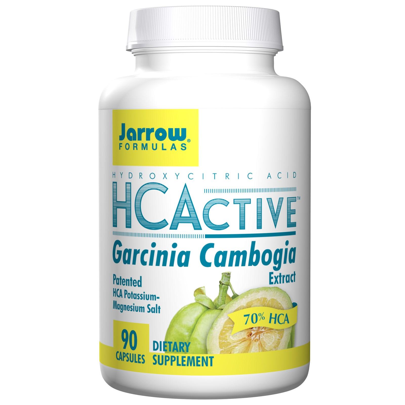 Image of HCActive Garcinia Cambogia Estratto (90 Caps Veggie) - Jarrow Formulas 0790011140870