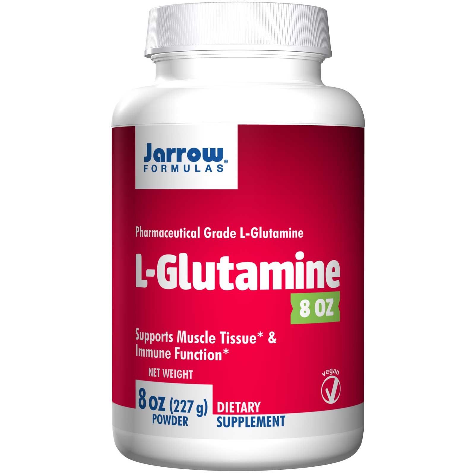 Image of L-Glutamine Powder (227 gram) - Jarrow Formulas 0790011150077
